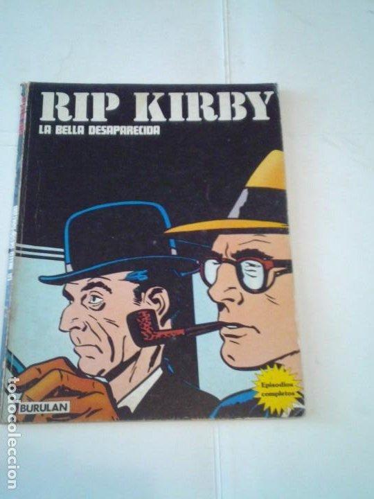 RIP KIRBY - BURU LAN - EPISODIOS COMPLETOS - LA BELLA DESAPARECIDA - BUEN ESTADO - GORBAUD (Tebeos y Comics - Buru-Lan - Rip Kirby)