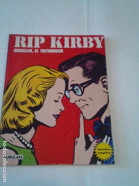 RIP KIRBY - BURU LAN - EPISODIOS COMPLETOS - MANGLER, EL TRITURADOR - BUEN ESTADO - GORBAUD (Tebeos y Comics - Buru-Lan - Rip Kirby)