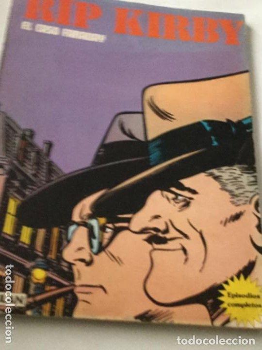 RIP KIRBY- RETAPADO- EL CASO FARADAY Y LA FORMULA ROBADA (Tebeos y Comics - Buru-Lan - Rip Kirby)