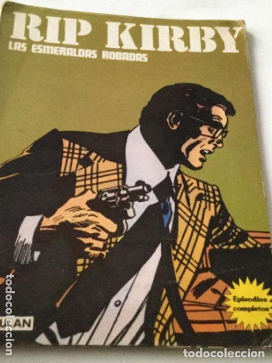 RIP KIRBY- RETAPADO- LAS ESMERALDAS ROBADAS Y DESMOND SE ENAMORA (Tebeos y Comics - Buru-Lan - Rip Kirby)