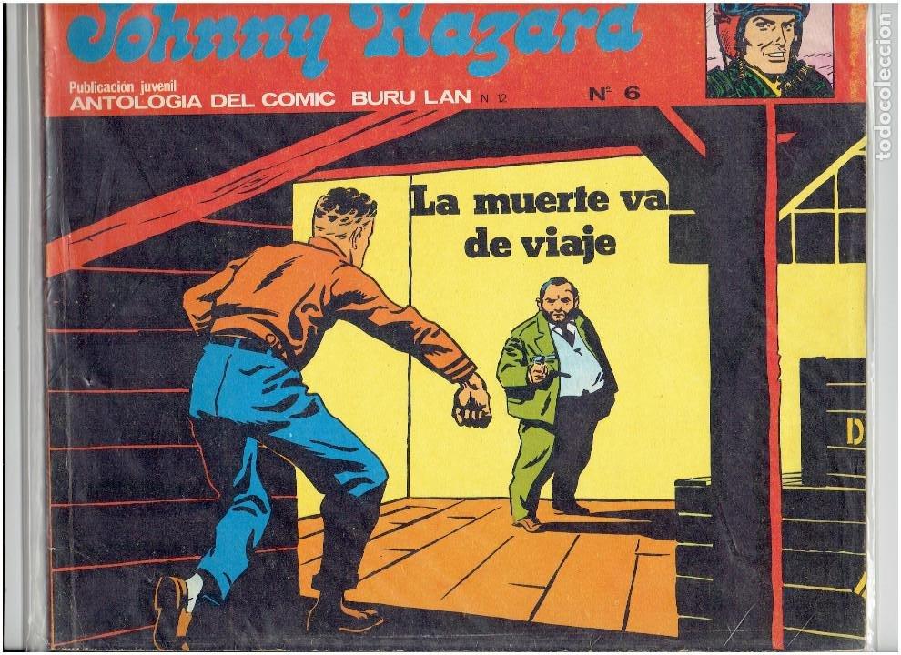 Cómics: * JOHNNY HAZARD * ED. BURULAN 1973 * LOTE Nº 2, 3, 6, * EXCELENTES * - Foto 3 - 183724277