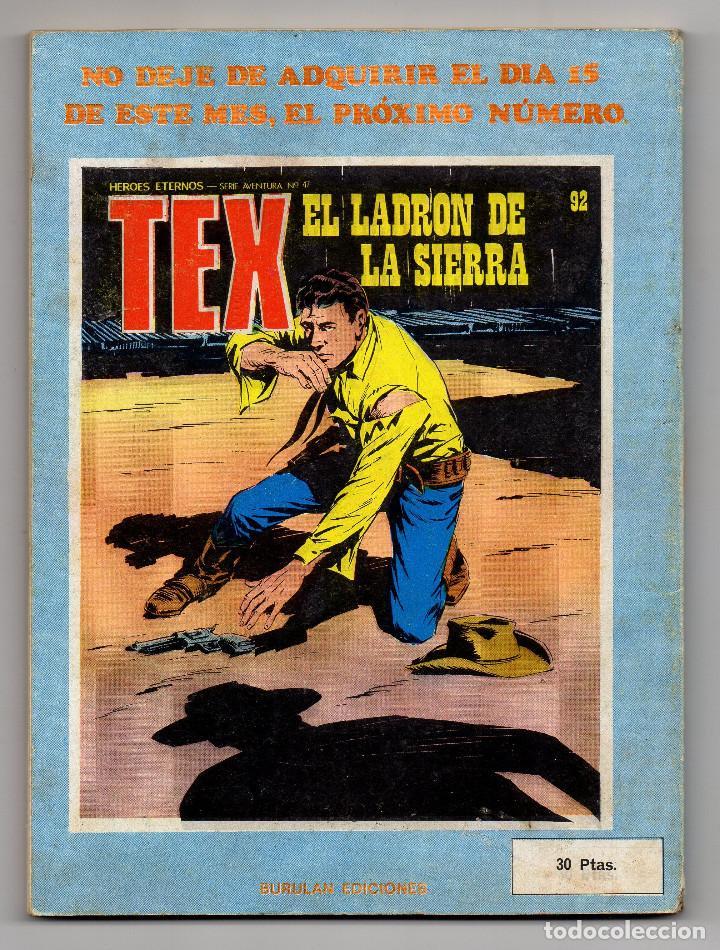 Cómics: TEX nº 91 (Buru Lan 1974) - Foto 3 - 217088567