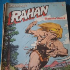 Cómics: COMIC RAHAN DE BURULAN EN BUEN ESTADO N 6. Lote 217246537