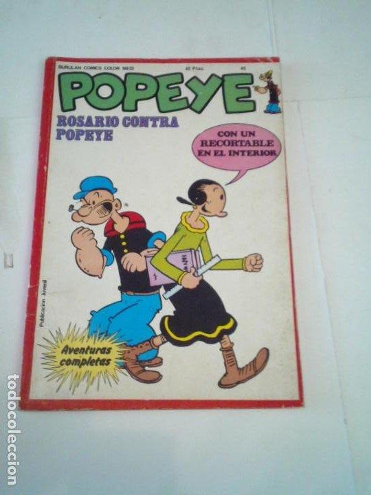 POPEYE - NUMERO 45 - ROSARIO CONTRA POPEYE - EDICIONES BURU LAN - CJ 118 (Tebeos y Comics - Buru-Lan - Popeye)