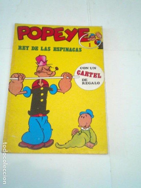 POPEYE - NUMERO 1 - REY DE LAS ESPINACAS - EDICIONES BURU LAN - GORBAUD - CJ 118 (Tebeos y Comics - Buru-Lan - Popeye)