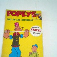 Cómics: POPEYE - NUMERO 1 - REY DE LAS ESPINACAS - EDICIONES BURU LAN - GORBAUD - CJ 118. Lote 217422115