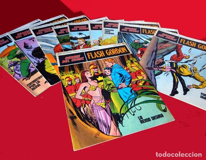 Cómics: FLASH GORDON, LOTE DE 10 FASCÍCULOS PERTENECIENTES AL TOMO 2, 1971 - BURU-LAN - COMO NUEVOS - Foto 3 - 84867252