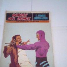 Cómics: EL HOMBRE ENMASCARADO - BURU LAN - FASCICULO NUMERO 13 - BUEN ESTADO - GORBAUD - CJ 118. Lote 217584776