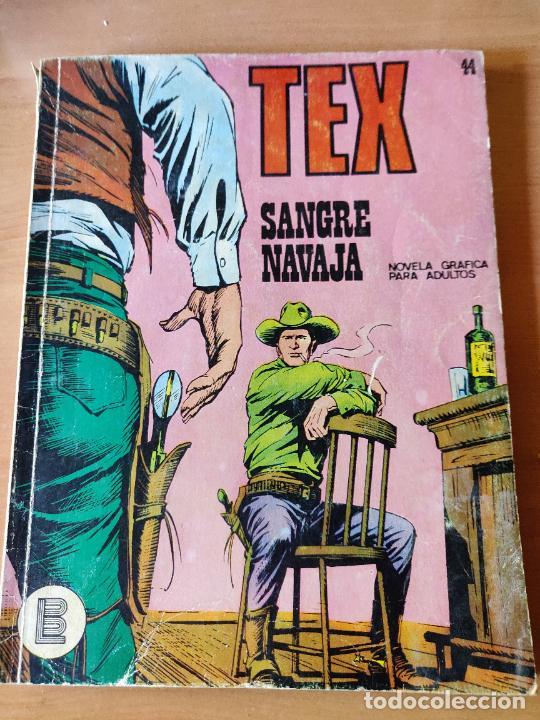 TEX 44 SANGRE NAVAJA (Tebeos y Comics - Buru-Lan - Tex)