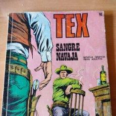 Cómics: TEX 44 SANGRE NAVAJA. Lote 217780870