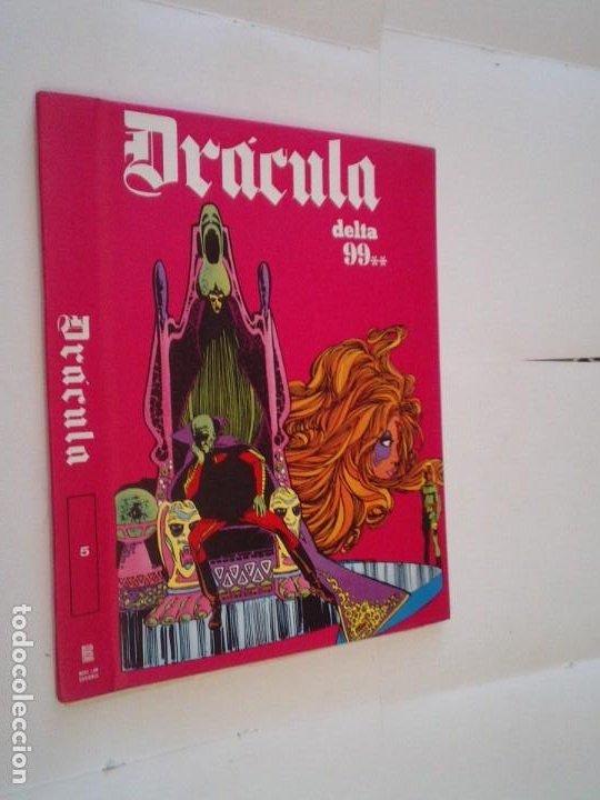 DRACULA - TAPAS PARA ENCUADERNAR TOMO 5 - BURU LAN - CON SUS GUARDAS E INDICES - MUY BUEN ESTADO (Tebeos y Comics - Buru-Lan - Drácula)