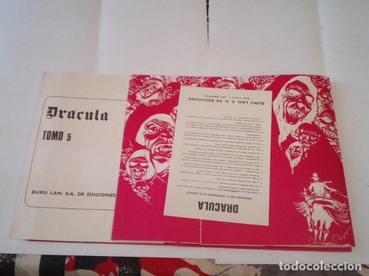 Cómics: DRACULA - TAPAS PARA ENCUADERNAR TOMO 5 - BURU LAN - CON SUS GUARDAS E INDICES - MUY BUEN ESTADO - Foto 2 - 217803751