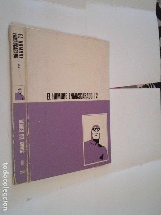 HOMBRE ENMASCARADO - TAPAS PARA ENCUADERNAR TOMO 2 - CON SUS GUARDAS E INDICES - NORMAL ESTADO (Tebeos y Comics - Buru-Lan - Hombre Enmascarado)