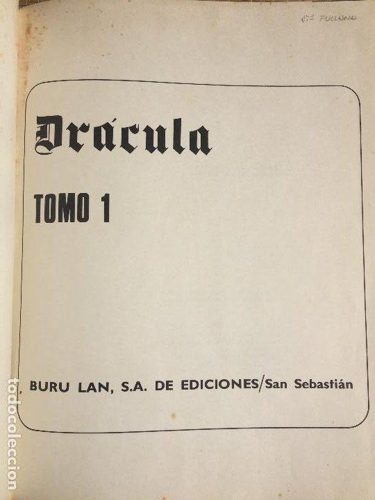 DRACULA TOMO 1 - BURULAN - GCH1 (Tebeos y Comics - Buru-Lan - Drácula)