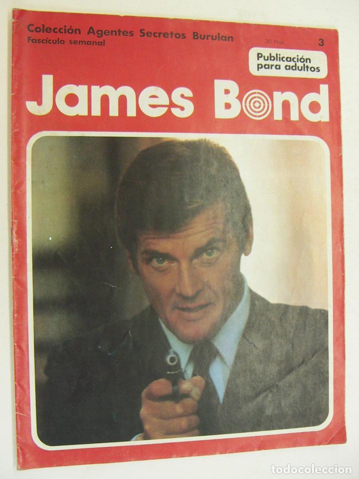 COLECCION AGENTES SECRETOS BURU LAN Nº 3 - JAMES BOND (Tebeos y Comics - Buru-Lan - James Bond)