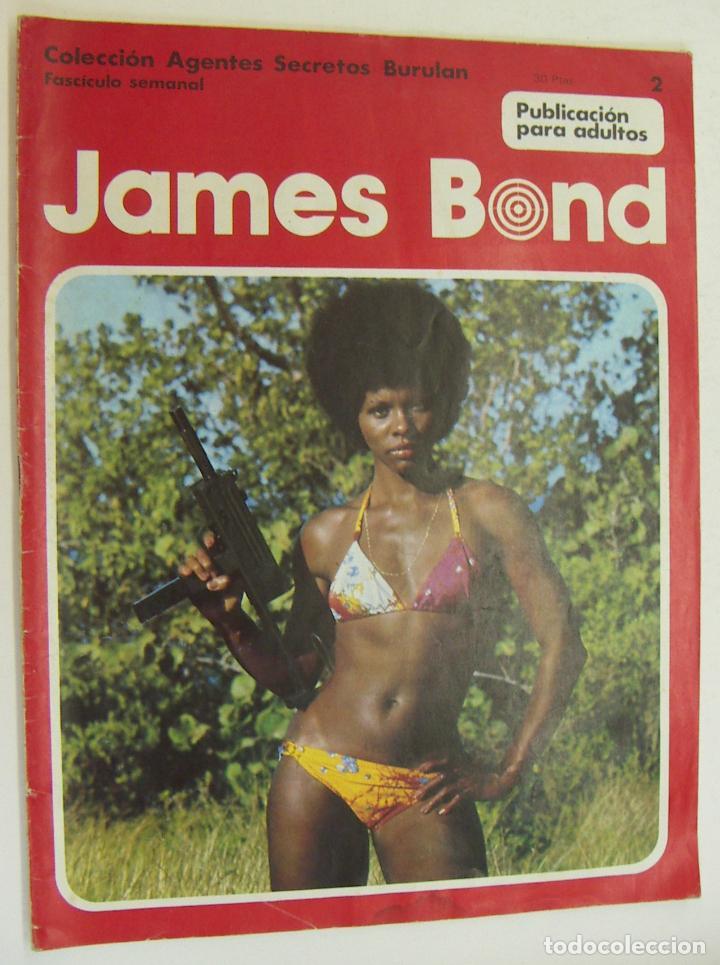 COLECCION AGENTES SECRETOS BURU LAN Nº 2 - JAMES BOND (Tebeos y Comics - Buru-Lan - James Bond)