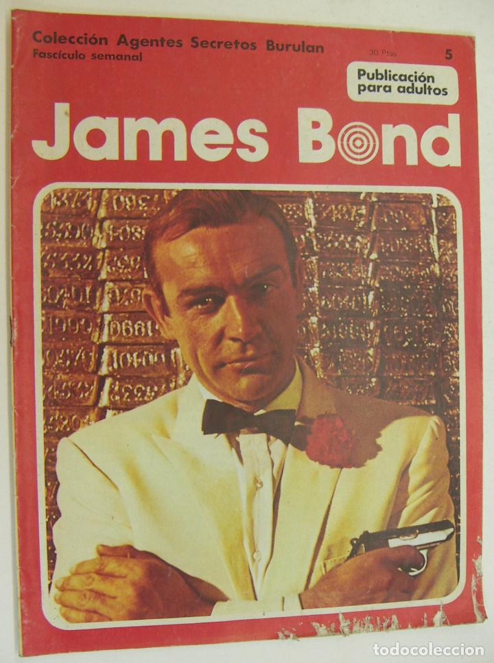 COLECCION AGENTES SECRETOS BURU LAN Nº 5 - JAMES BOND (Tebeos y Comics - Buru-Lan - James Bond)