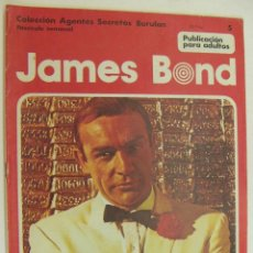 Cómics: COLECCION AGENTES SECRETOS BURU LAN Nº 5 - JAMES BOND. Lote 218367335