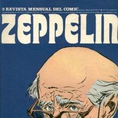Cómics: ZEPPELIN-BURULAN-Nº 3 -EL MEJOR CÓMIC MUNDIAL Y SU HISTORIA-MORT CINDER-MILTON CANIFF-1973-RARO-3758. Lote 218433292