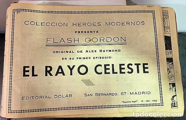 Cómics: Flash Gordon del 1 al 70 - Foto 4 - 218743372
