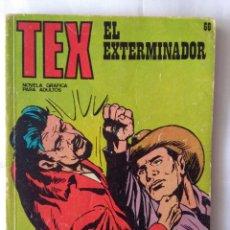 Cómics: TEX 66- EL EXTERMINADOR. Lote 218835715