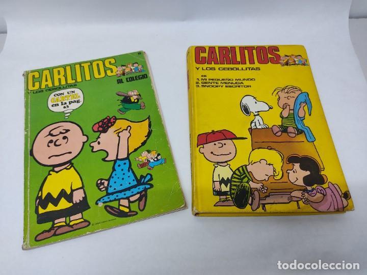 CARLITOS Y LOS CEBOLLITAS TOMO 1 - BURU LAN - BURULAN - 1971 Y CARLITOS Nº 6 TEBEO (Tebeos y Comics - Buru-Lan - Otros)