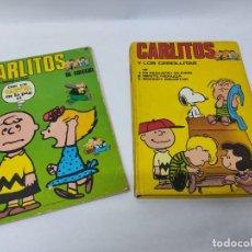 Cómics: CARLITOS Y LOS CEBOLLITAS TOMO 1 - BURU LAN - BURULAN - 1971 Y CARLITOS Nº 6 TEBEO. Lote 218886480