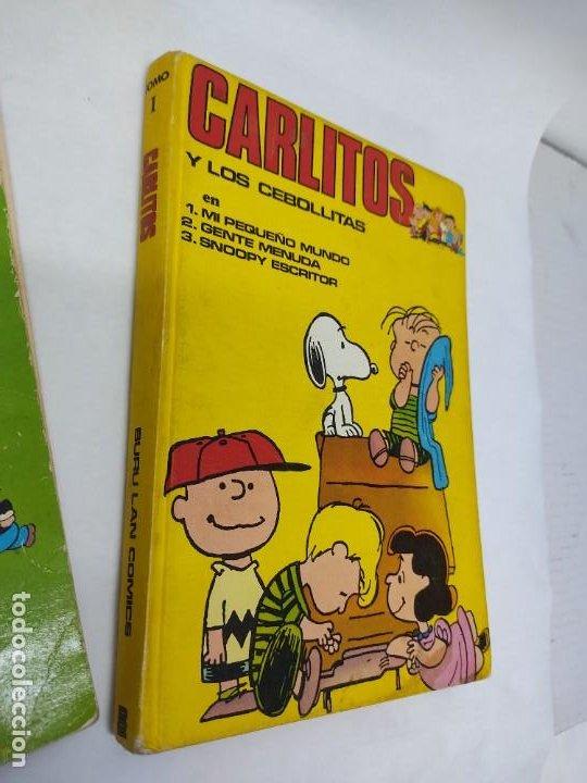 Cómics: CARLITOS Y LOS CEBOLLITAS TOMO 1 - BURU LAN - BURULAN - 1971 Y CARLITOS Nº 6 TEBEO - Foto 2 - 218886480