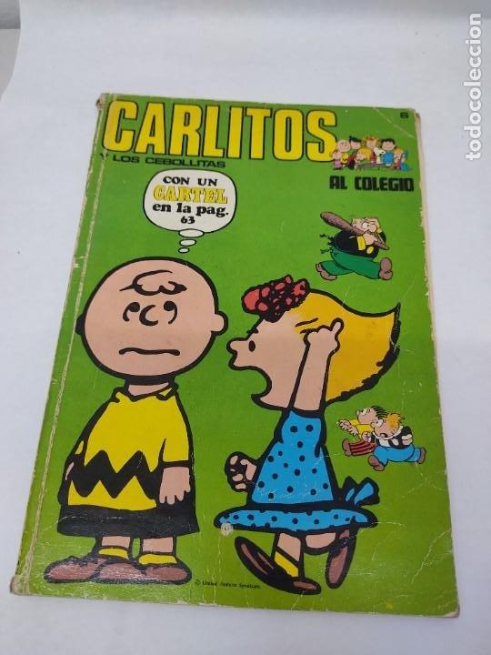 Cómics: CARLITOS Y LOS CEBOLLITAS TOMO 1 - BURU LAN - BURULAN - 1971 Y CARLITOS Nº 6 TEBEO - Foto 10 - 218886480