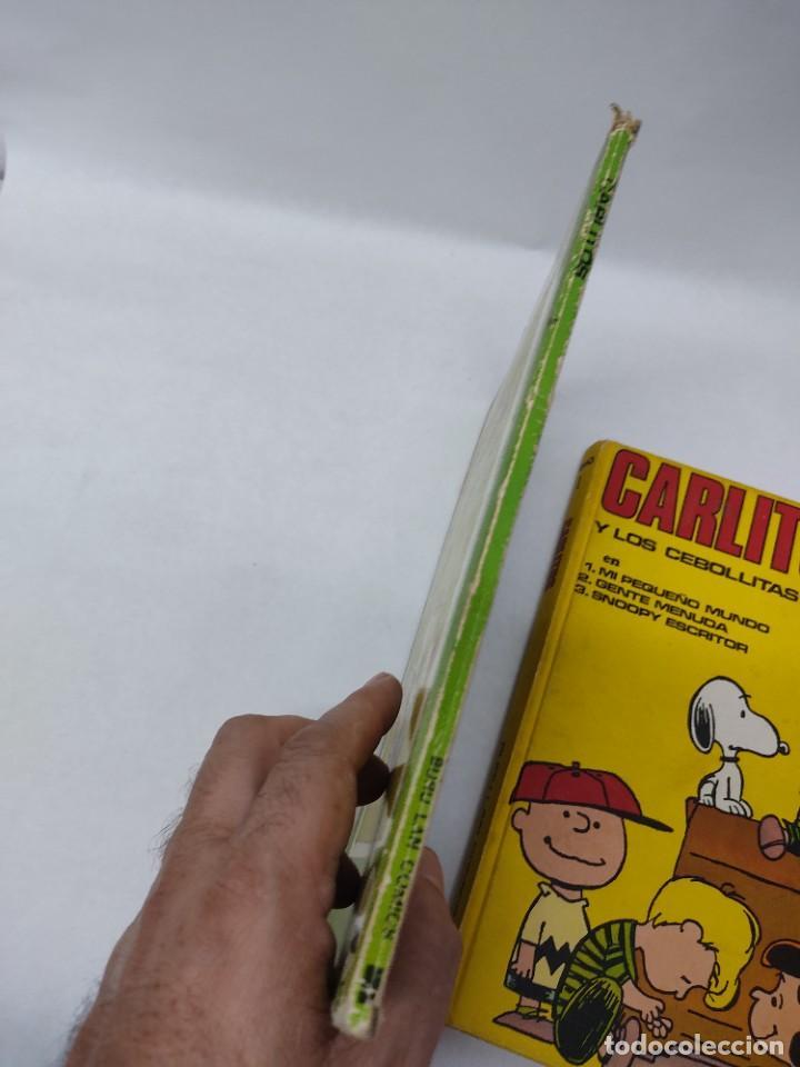 Cómics: CARLITOS Y LOS CEBOLLITAS TOMO 1 - BURU LAN - BURULAN - 1971 Y CARLITOS Nº 6 TEBEO - Foto 11 - 218886480