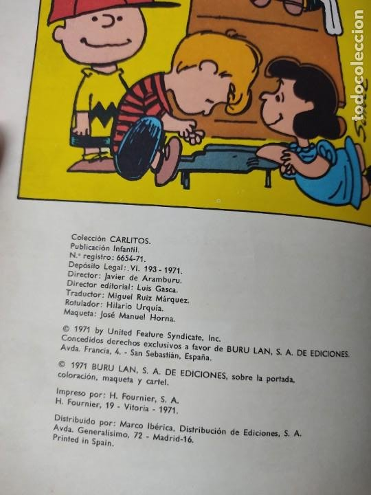 Cómics: CARLITOS Y LOS CEBOLLITAS TOMO 1 - BURU LAN - BURULAN - 1971 Y CARLITOS Nº 6 TEBEO - Foto 13 - 218886480