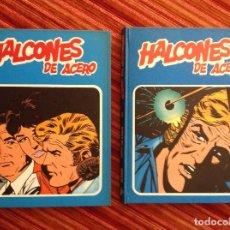 Cómics: HALCONES DE ACERO-BURULAN-2 TOMOS-COMPLETA-AÑOS 70-BUEN ESTADO. Lote 218966091