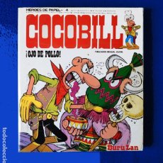 "Cómics: COCOBILL, - ""¡OJO DE POLLO!"" - Nº 4, - POR JACOVITTI - EDICIONES BURU LAN, 1973 - ORIGINAL. Lote 219258118"