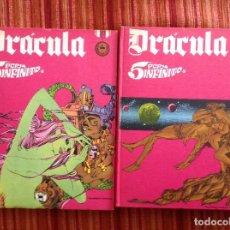 Cómics: DRACULA 5 POR INFINITO-BURULAN-TOMOS 2 Y 3-ENCUADERNACIÓN DE EDITORIAL-BUEN ESTADO. Lote 219494922