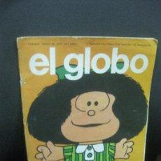 Cómics: EL GLOBO Nº 1. BURU LAN EDICIONES, 1973. MAFALDA EN PORTADA. QUINO.. Lote 219512851