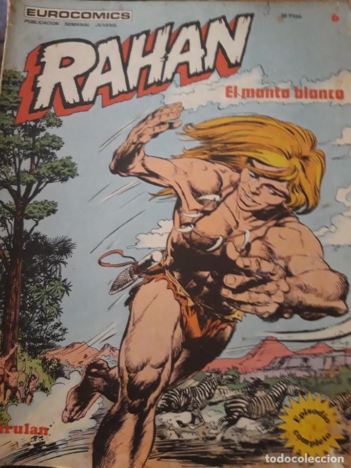 COMIC RAHAN DE BURULAN EN BUEN ESTADO N 6 (Tebeos y Comics - Buru-Lan - Rahan)