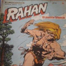 Cómics: COMIC RAHAN DE BURULAN EN BUEN ESTADO N 6. Lote 219694523