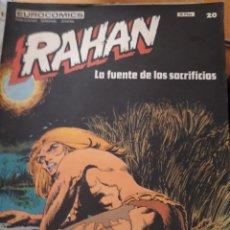 Cómics: COMIC RAHAN DE BURULAN EN BUEN ESTADO N 20. Lote 219694750