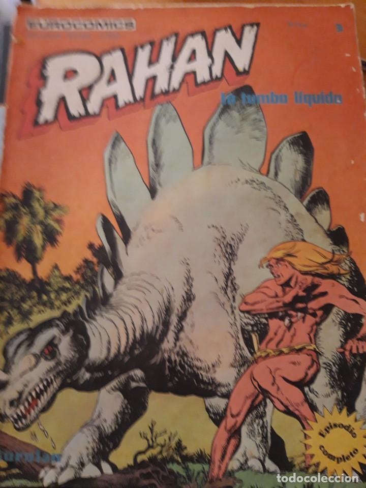 COMIC RAHAN DE BURULAN EN BUEN ESTADO N 3 (Tebeos y Comics - Buru-Lan - Rahan)