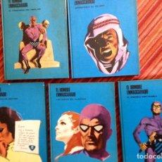 Cómics: EL HOMBRE ENMASCARADO-BURULAN-TOMOS 1-2-3-4 Y 5. Lote 219731873