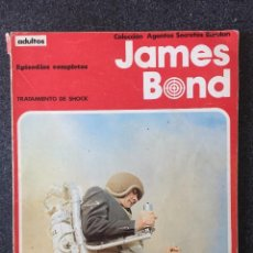 Cómics: JAMES BOND - RETAPADO 5 - TRATAMIENTO DE SHOCK - BURU LAN - 1974 - ¡BUEN ESTADO!. Lote 220274980