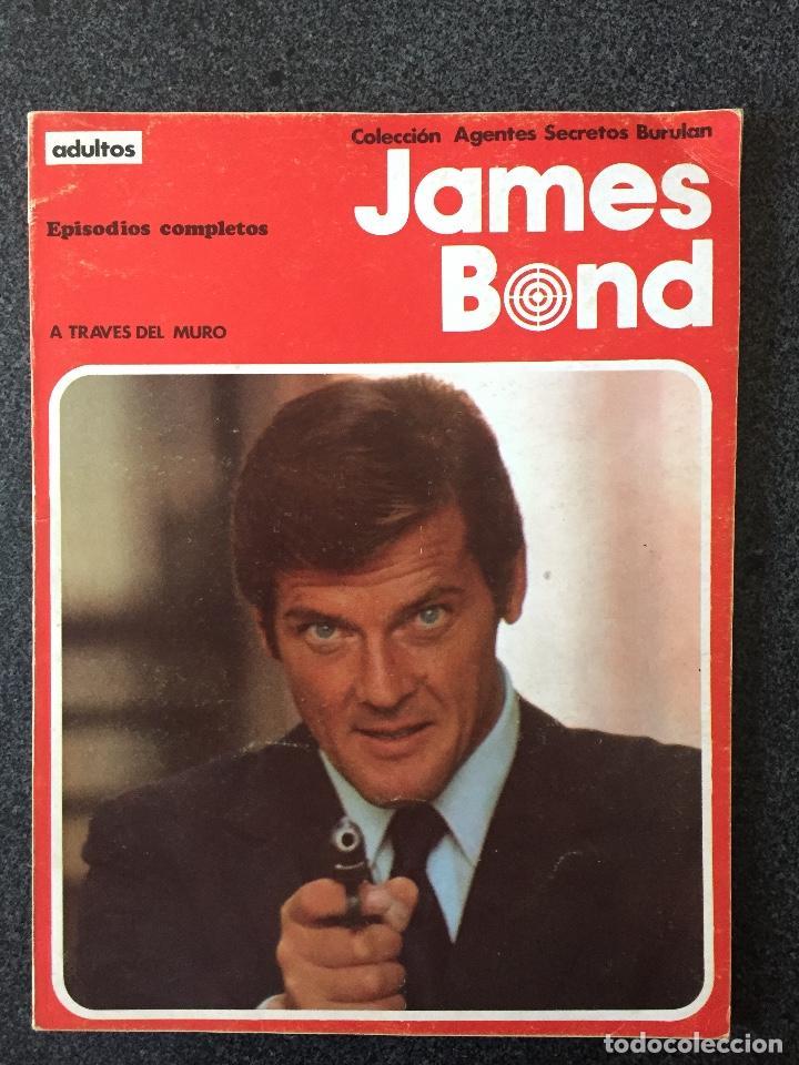 james bond - retapado 1 - a través del muro - b - Comprar Comics James Bond  editorial Buru-Lan en todocoleccion - 220277557