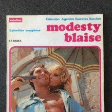 Cómics: MODESTY BLAISE - RETAPADO 1 - LA BARRA - BURU LAN - 1974 - ¡MUY BUEN ESTADO!. Lote 220278467