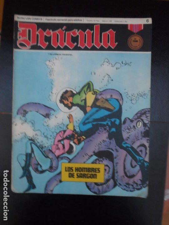 DRÁCULA Nº 6 EDITORIAL BURULAN BURU LAN (Tebeos y Comics - Buru-Lan - Drácula)