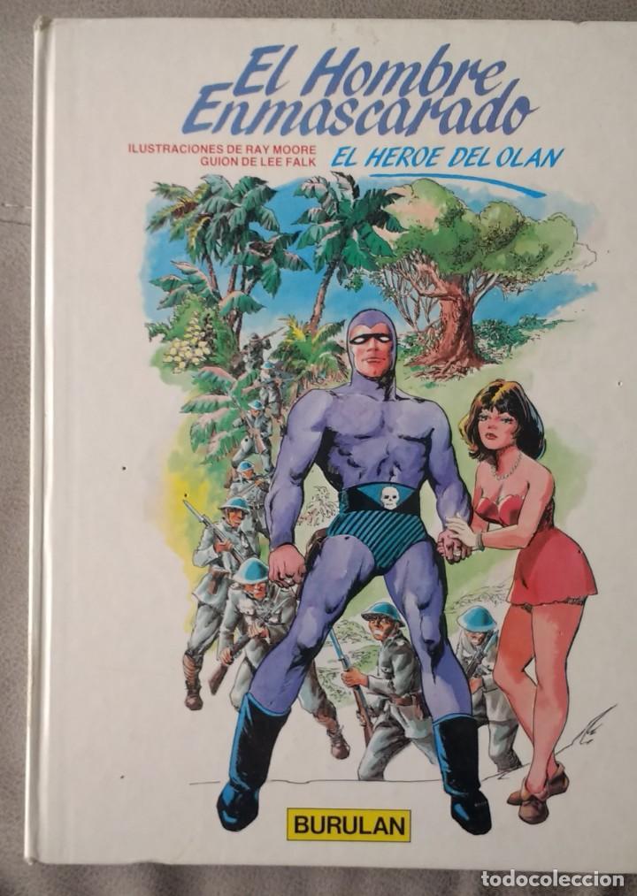 EL HOMBRE ENMASCARADO: EL HEROE DEL OLAN (Tebeos y Comics - Buru-Lan - Hombre Enmascarado)
