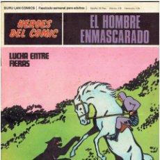 Fumetti: * EL HOMBRE ENMASCARADO * HEROES DEL COMIC * EDICIONES BURULAN 1971 * FASCICULO 71 *. Lote 220589500