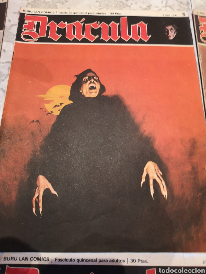 Cómics: Lote de 12 Comics Drácula Buru Lan Comics 1971 - Foto 3 - 221093665