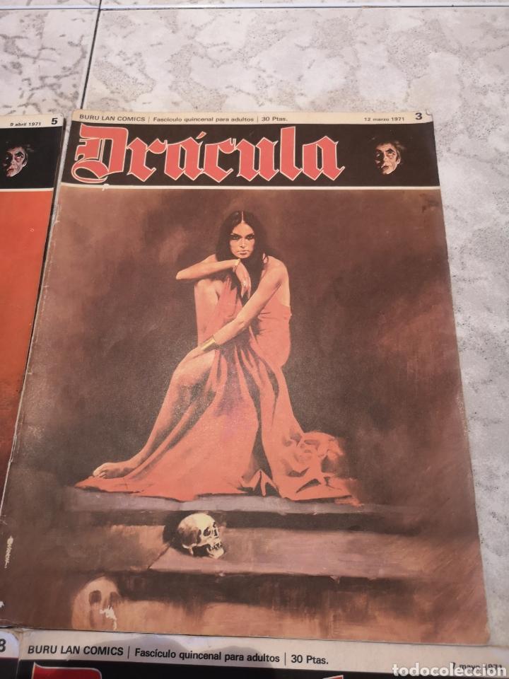 Cómics: Lote de 12 Comics Drácula Buru Lan Comics 1971 - Foto 4 - 221093665