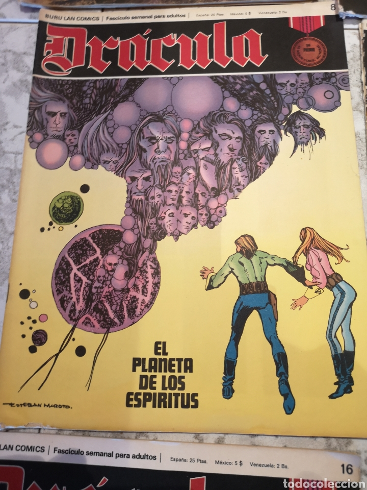 Cómics: Lote de 12 Comics Drácula Buru Lan Comics 1971 - Foto 5 - 221093665