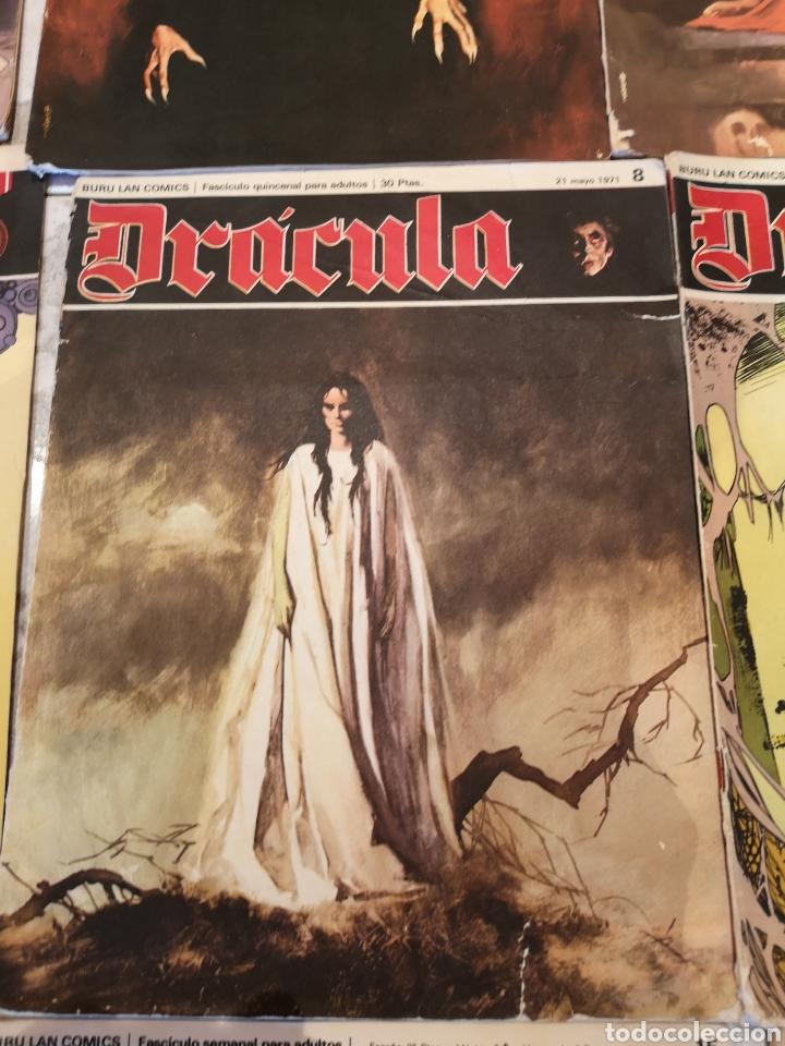 Cómics: Lote de 12 Comics Drácula Buru Lan Comics 1971 - Foto 6 - 221093665
